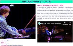 Alexander Jansen NBE Compositiewedstrijd